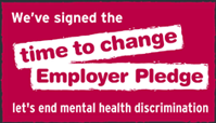 Logo for Time to change: Employer pledge